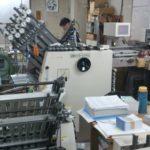 近所の製本工場に視察に行ってきました