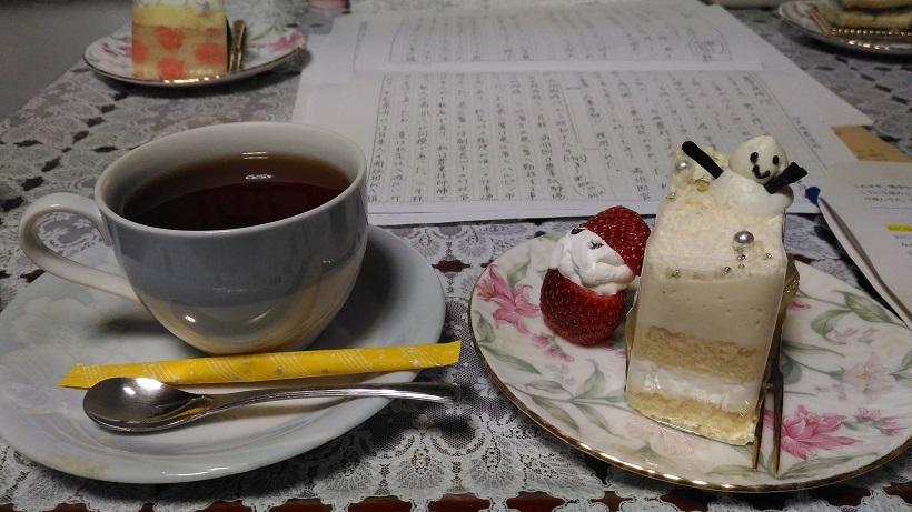 お客様_クリスマスケーキ